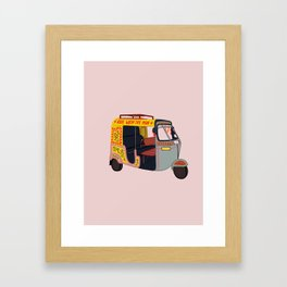 Ride with the Mob Framed Art Print