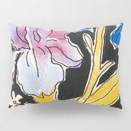 Iris Floral Pillow Sham