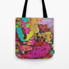 Colorful Cockerel Tote Bag
