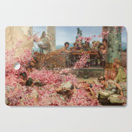 The Roses of Heliogabalus Cutting Board
