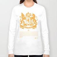 narnia Long Sleeve T-shirts featuring The King by John Choi King