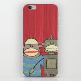 Sock Monkey 221 iPhone Skin