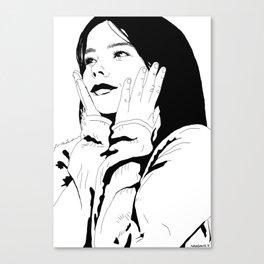 Bjørk - Debut Canvas Print
