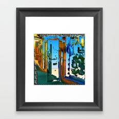 It's Open Door Policy For The Multiverse Framed Art Print