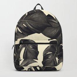 Monstera Leaves Pattern #8 #tropical #decor #art #society6 Backpack