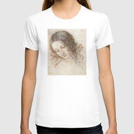 Leonardo da Vinci - Head of Leda T-shirt