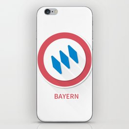 Bayern Munich Smooth Logo iPhone Skin