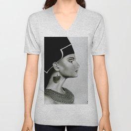 Nefertiti Unisex V-Neck
