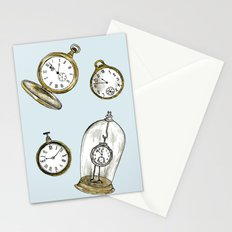 Clocks Stationery Cards