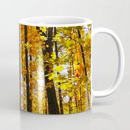 Sunny Autumn Hillside Coffee Mug