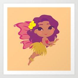 Island Fairy Art Print