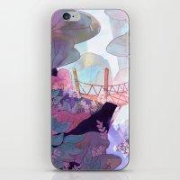 bridge iPhone & iPod Skins featuring Bridge by sarlisart