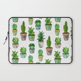 Green cactus Laptop Sleeve