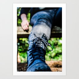These Boots R Made For Walking. Art Print