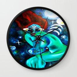 Extra Terres Stella Wall Clock
