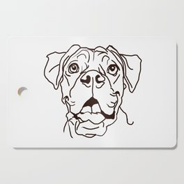The Boxer Dog Love of my Life Cutting Board