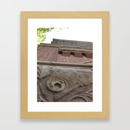 Looking up... Framed Art Print