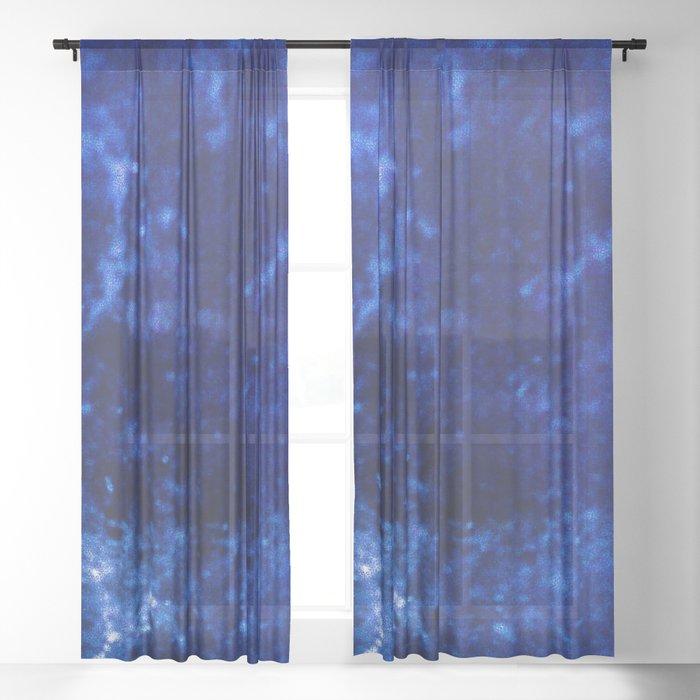 Sapphire Sheer Curtain