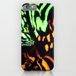 Neon animal skin iPhone Case