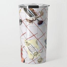 Syringe Collage Travel Mug