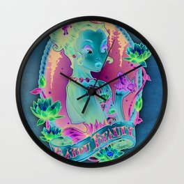 Bayou Beauty Wall Clock