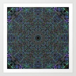 Succulent Fractal Art Print