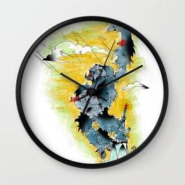 KONG a`la DANG Wall Clock