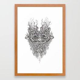 Fauny Jefferson Framed Art Print