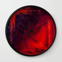 """Heat"" Wall Clock"