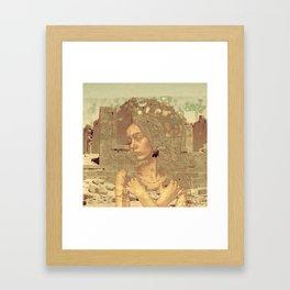 Life In Ruins Framed Art Print