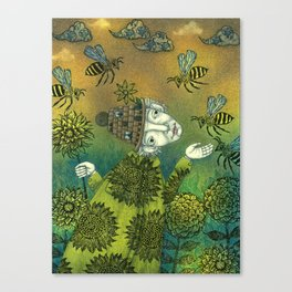 The Beekeeper Canvas Print