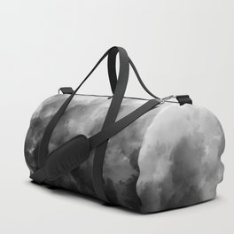 Ombre Smoke Clouds Minimal Duffle Bag