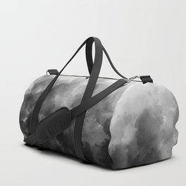 Ombre Smoke Clouds Minimal Duffle Bag