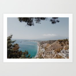 Taormina, Sicily Art Print