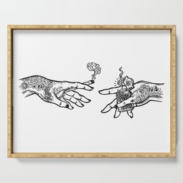 the creation of cannabis Serving Tray