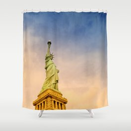 Statue of Liberty Shower Curtain