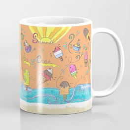 Summer Ice Creams and Popsicles Coffee Mug