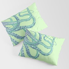 The Elusive Octopus Pillow Sham