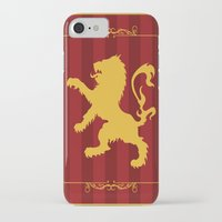 gryffindor iPhone & iPod Cases featuring Gryffindor by Winter Graphics