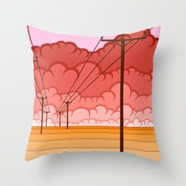 Communication Let Me Down Throw Pillow