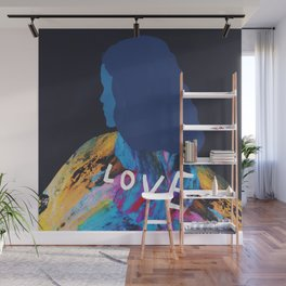 To Love, Woman. Abstract Wall Mural