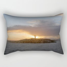 Salt Sun Lighthouse Rectangular Pillow