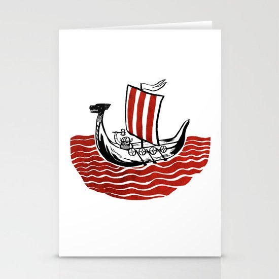 Lone Viking Stationery Cards