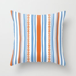 Vive l'été Throw Pillow