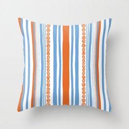 Vive l'été Throw Pillow