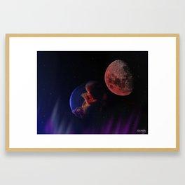 IHON - Born To The Endless Night Framed Art Print