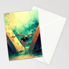 TAURUS from the Dancing Zodiac Stationery Cards