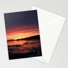 Frozen Sunset Stationery Cards
