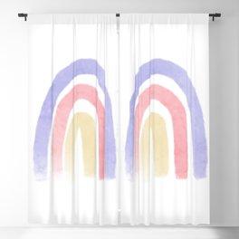 Gentle Rainbow Blackout Curtain