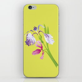Beautiful Spring Irises iPhone Skin